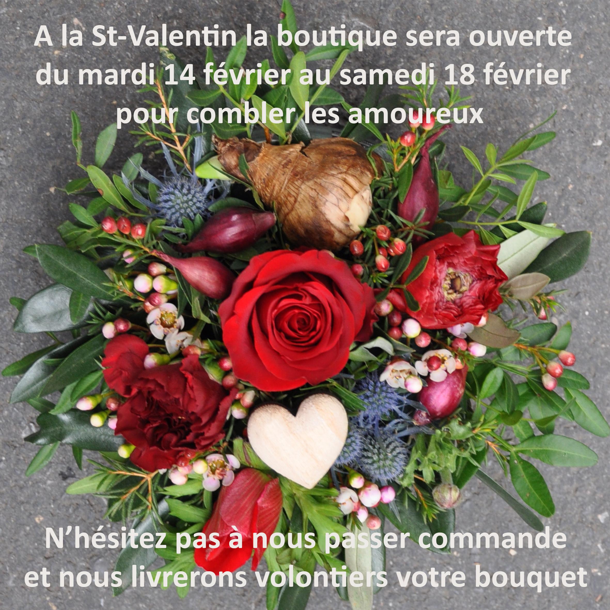 Saint Valentin Comme Une Fleur